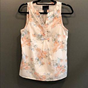 Cynthia Rowley floral blouse